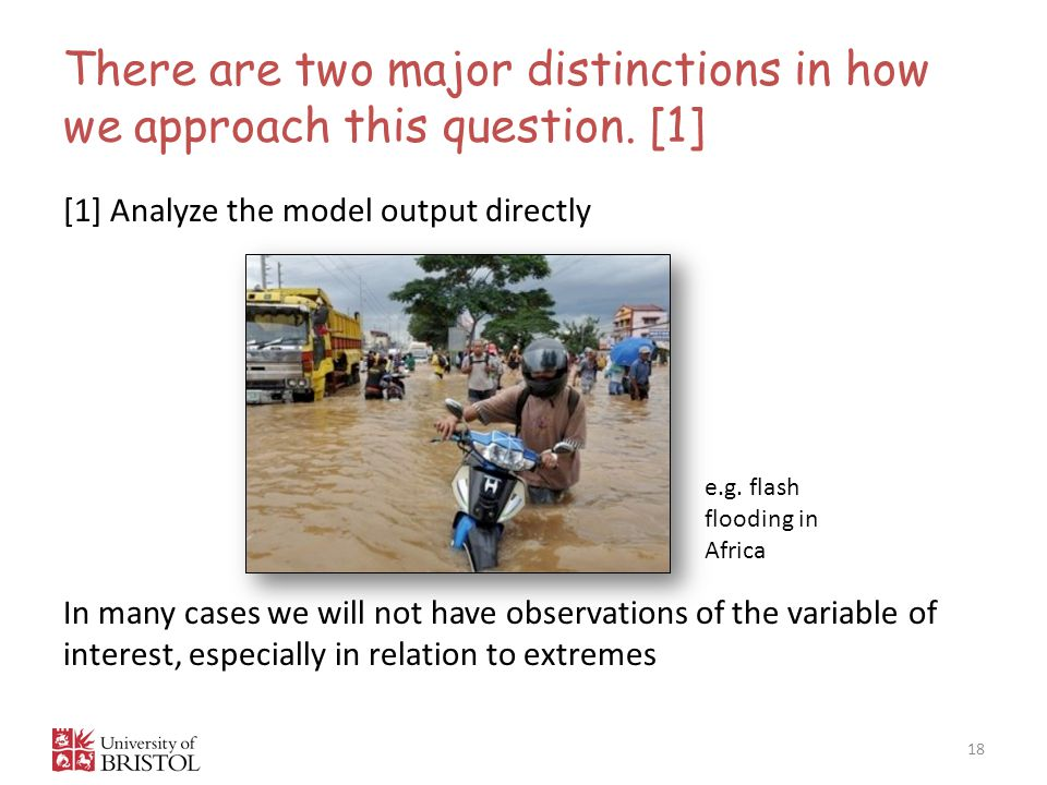 There are two major distinctions in how we approach this question. [1]